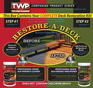 Gemini Restore A Deck Kit