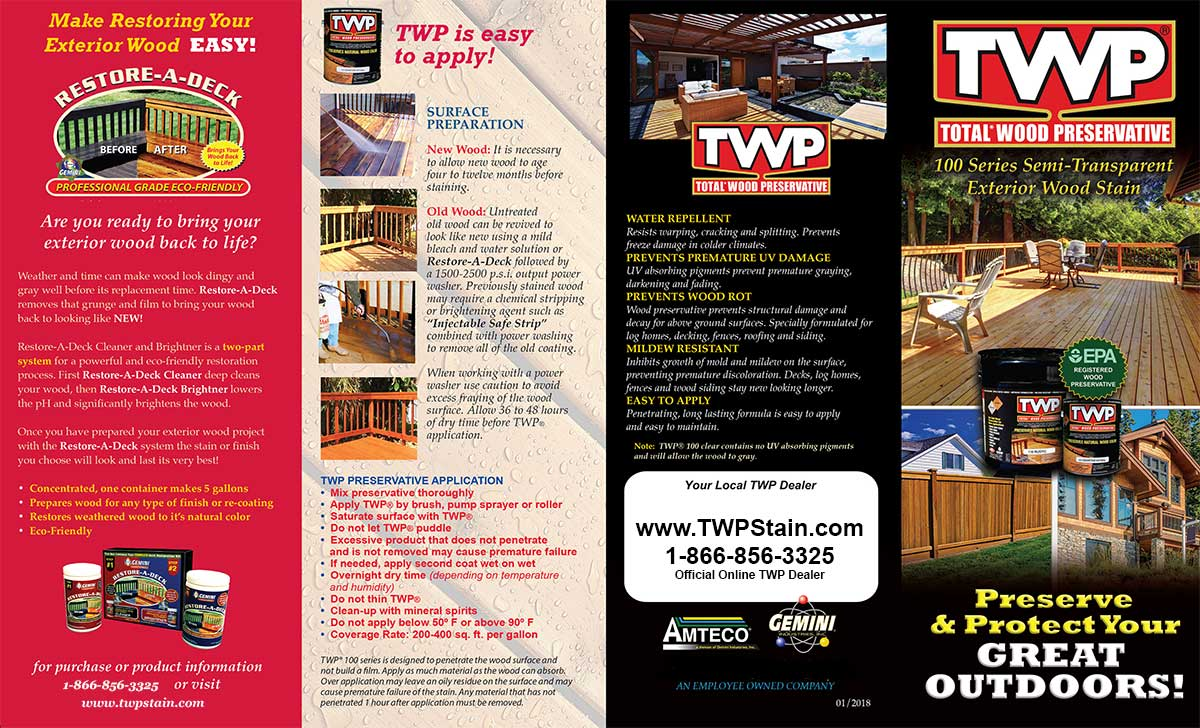 TWP 100 Series Brochure 2