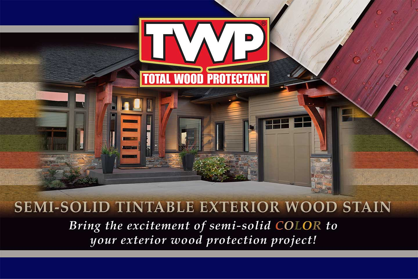 TWP Semi Solid Wood Deck Stain