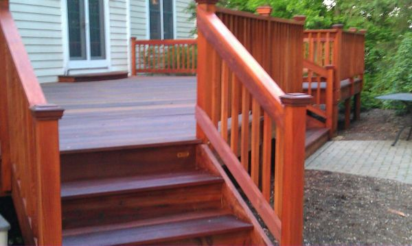 TWP 1502 Redwood Deck