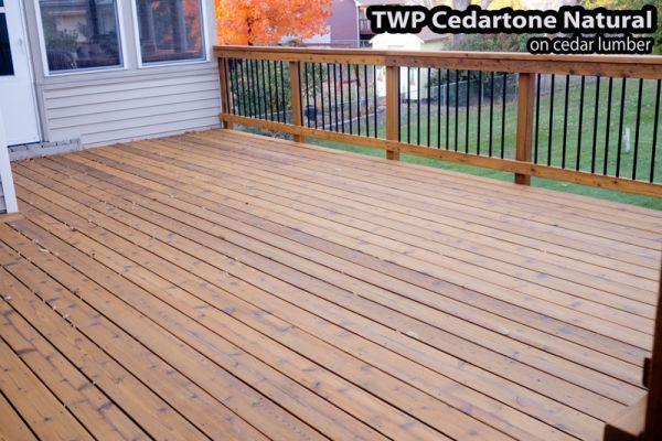 TWP Cedartone natural