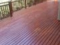 Finished Deck Stain  using TWP Rustic 1516 Rebate Pic 2 May 2018