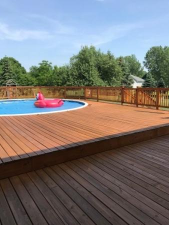 TWP 101 Cedartone Pool Deck 2