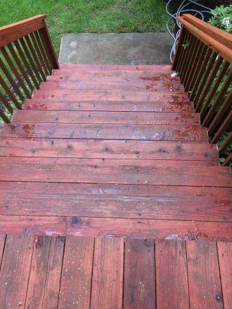 TWP 102 Redwood on Cedar Deck
