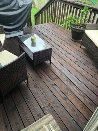 TWP 103 Dark Oak on Pine Deck