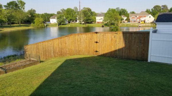 TWP 115 Honeytone Fence