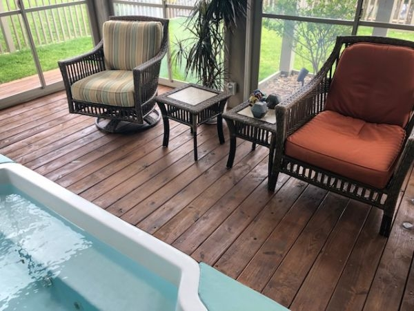 TWP 120 Pecan Porch