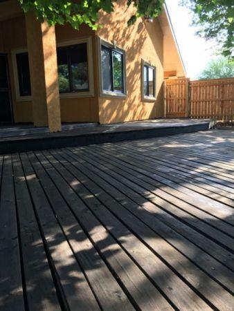 TWP 1504 Black Walnut Deck