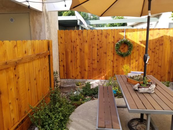 TWP 101 Cedartone Fence 2