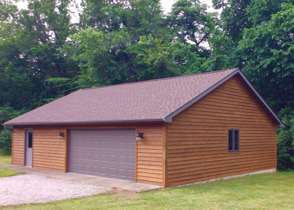TWP 101 Cedartone Garage