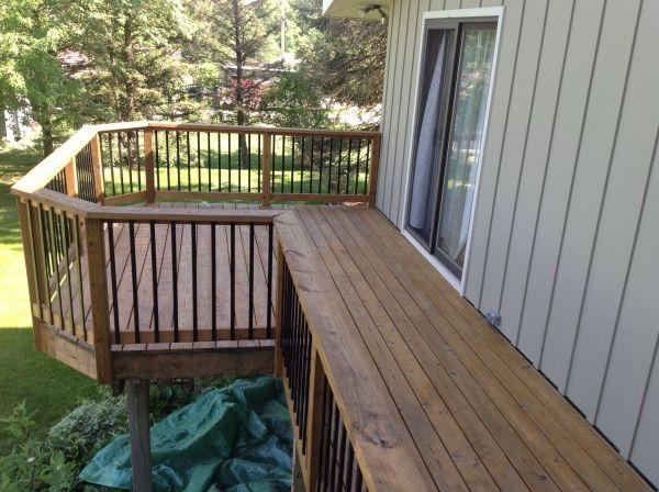 TWP 101 Cedartone PTP Deck 2