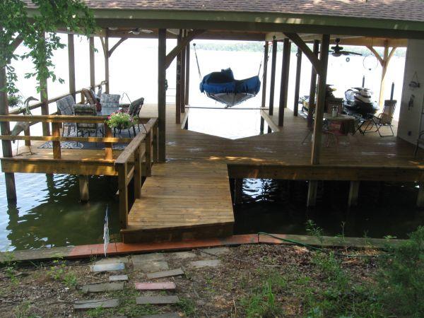 TWP 115 Honeytone Boat Dock 2