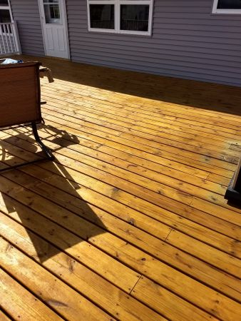 TWP 115 Honeytone Deck After