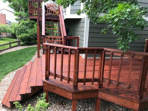 TWP 116 Rustic Deck