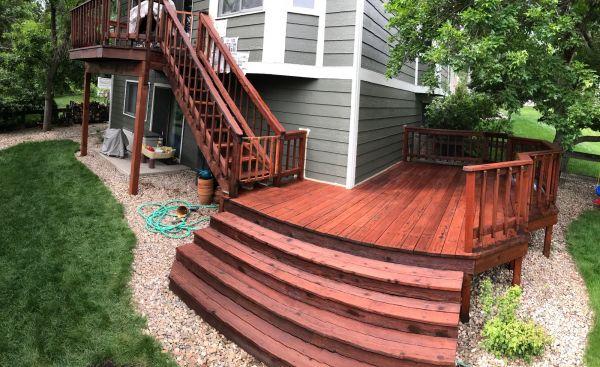 TWP 116 Rustic Deck 2