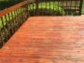 TWP 116 Rustic Log Home Deck 2