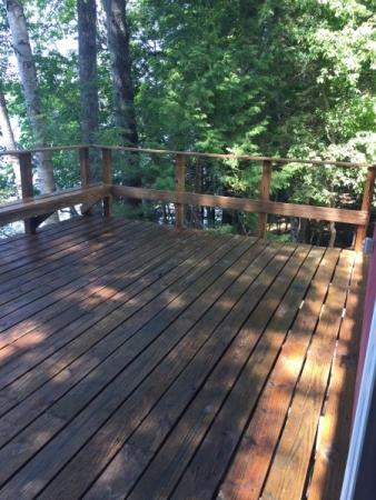 TWP 1501 Cedartone Lake Deck