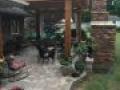 TWP 1501 Cedartone Pergola