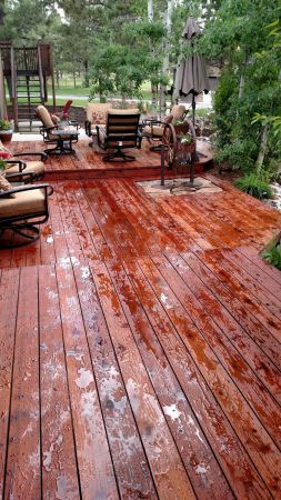 TWP 1516 Rustic Deck After