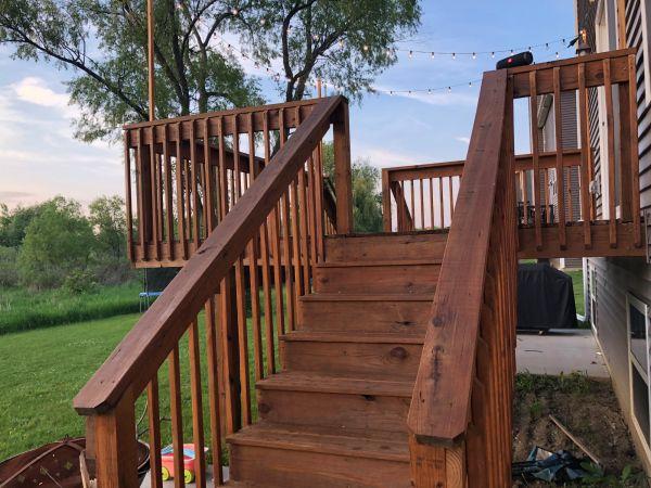 TWP 1520 Pecan Pine Deck