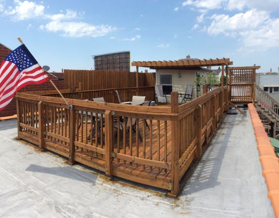 TWP 1530 Natural Roof Deck 2