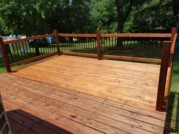 1516 Rustic TWP Deck