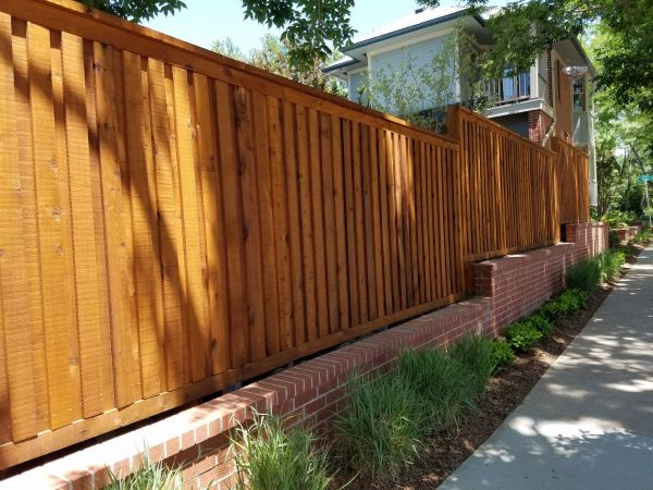 TWP 101 Cedartone Fencing 2