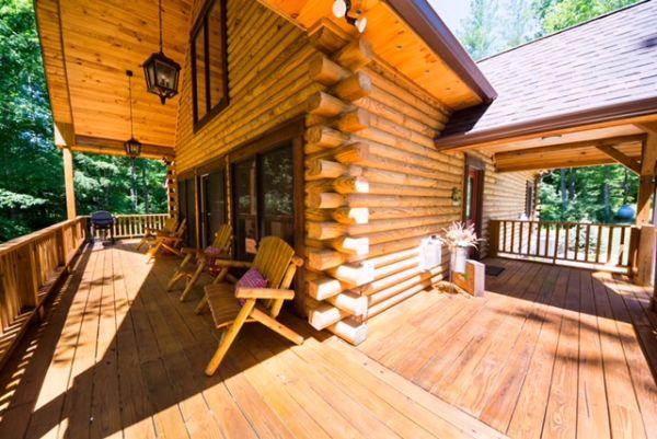 TWP 115 Honeytone Cabin 2
