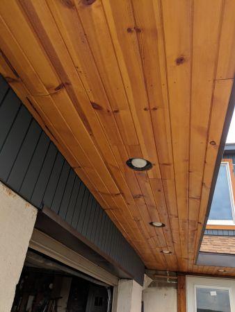 TWP 1501 Cedartone Cedar Ceiling