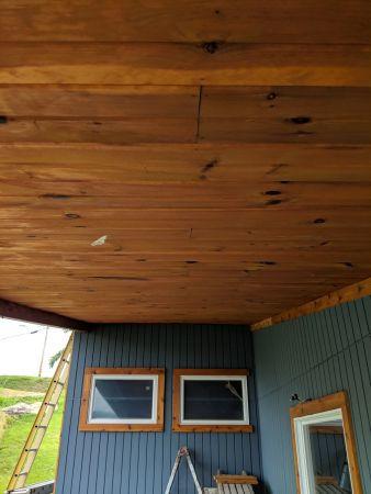 TWP 1501 Cedartone Cedar Ceiling 2