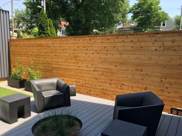 TWP 1530 Natural on Cedar Fence