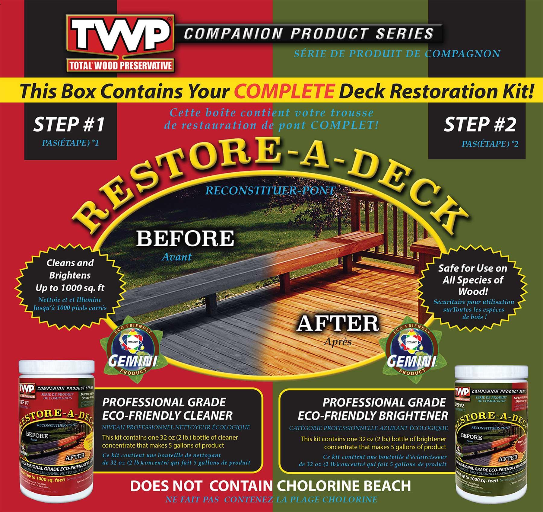 Gemini Restore A Deck