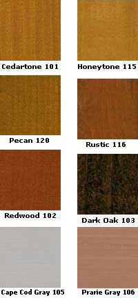 TWP 100 Series Deck Stain Wood Colors