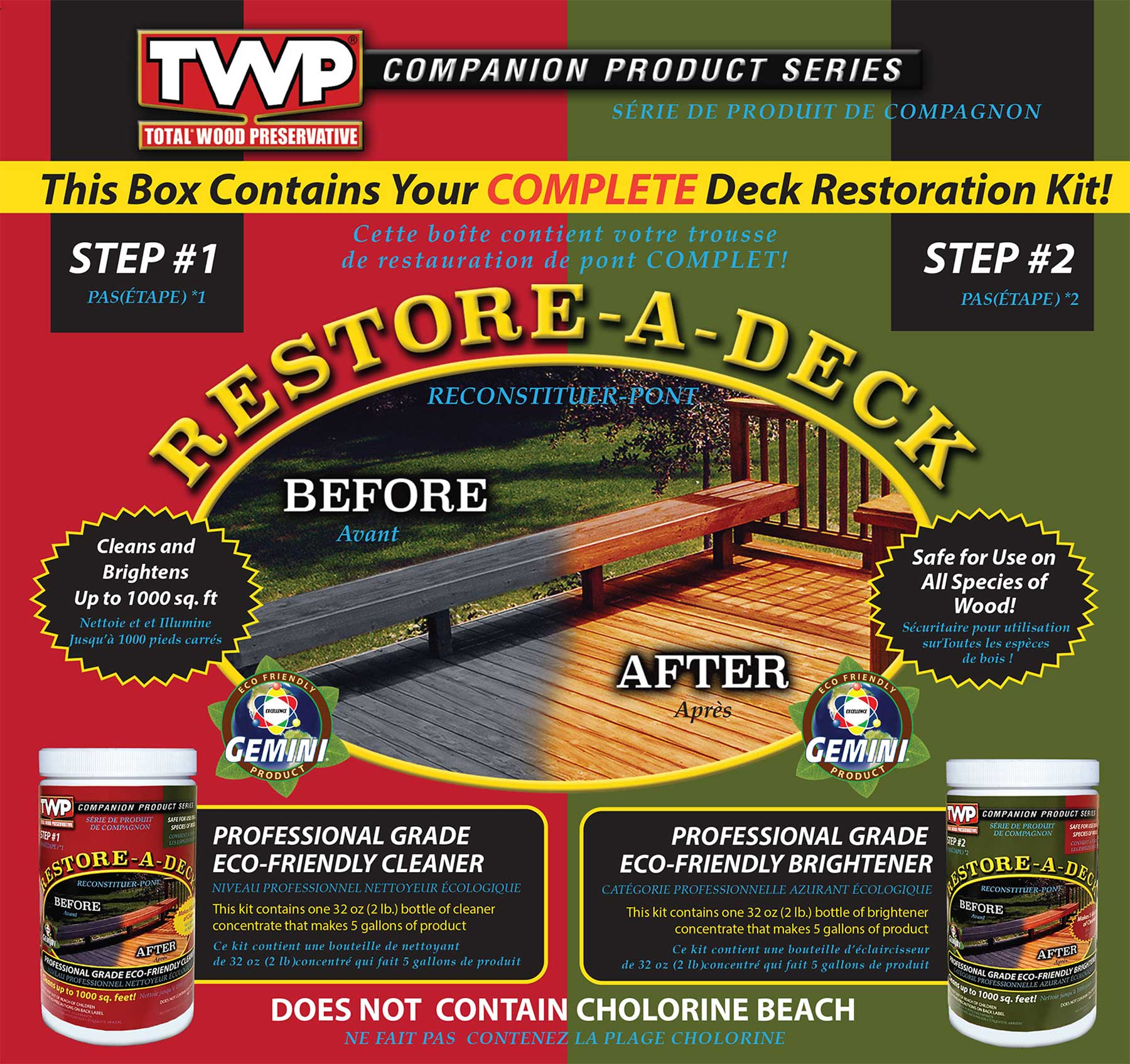 Gemini Restore-A-Deck Kit