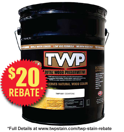 TWP 1500 Series Deck Stain 5 Gallon