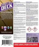 TWP 1500 Series Deck Stain 5 Gallon and RAD Stripper/Brightener Kit