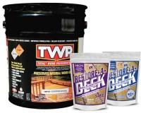 TWP 100 Series  Deck Stain 5 Gallon and RAD Stripper/Brightener Kit