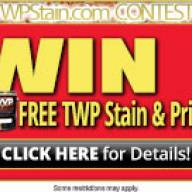 TWP 2020 Contest Win Cash and TWP Stain